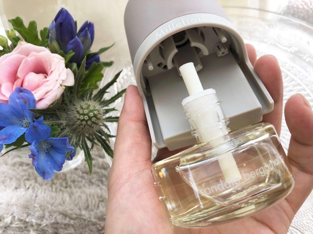 Millefiori Electric Fragrance diffuser (ミッレフィオーリ プラグイン ディフューザー)