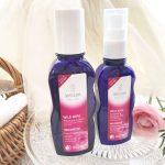 【ヴェレダ】人気No.1「ワイルドローズモイスチャーローション」化粧水2本目突入!乳液もプラスしています。
