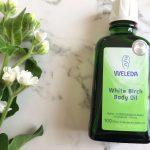 ヴェレダホワイトバーチボディオイルはやっぱりいい!保湿力抜群、足もスッキリ